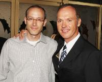 Michael Keaton and David Zucker at the Los Angeles premiere of
