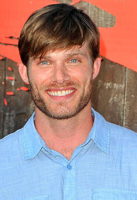 Chris Carmack at the press preview night of