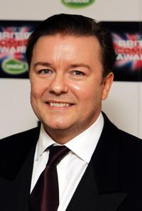 Ricky Gervais at the British Comedy Awards 2005.