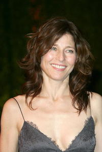 Catherine Keener at the Vanity Fair Oscar party.