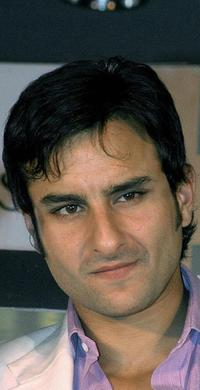Saif Ali Khan at the launch function by leading Indian jewellery company Tanishq.