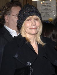 Sally Kellerman at the Robert Altman Memorial at the Majestic Theater.