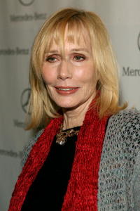 Sally Kellerman at the Mercedes-Benz Fashion Week.