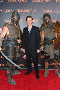 Joseph Morgan at the world premiere of