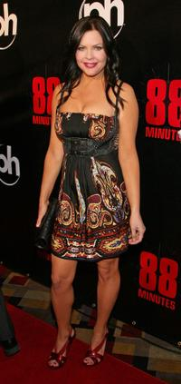 Christa Campbell at the world premiere of