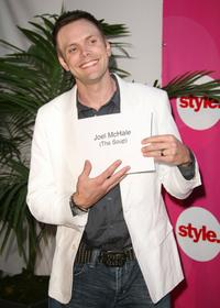 Joel McHale at the Style Network party during the Summer TCA Tour.