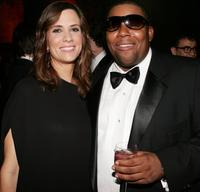 Kristen Wiig and Kenan Thompson at the American Museum Of Natural History's Annual Museum Gala.