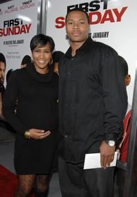 Terri J. Vaughn and Karon Riley at the World premiere of