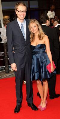 Stephen Merchant and Guest at the British Academy Television Awards 2008.