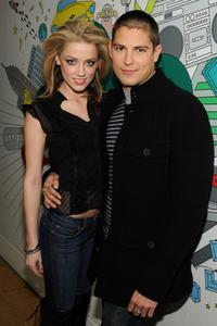 Amber Heard and Sean Faris at the MTV's Total Request Live.