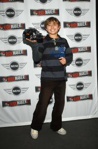 Jansen Panettiere at the Ridemakerz unveiling of a toy Mini to the Boys & Girls Club.