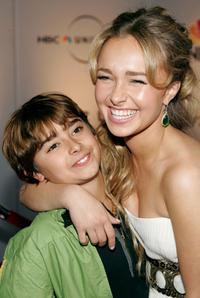 Jansen Panettiere and Hayden Panettiere at the NBC/Universal Golden Globe After Party.