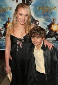 Hayden Panettiere and Jansen Panettiere at the special screening of
