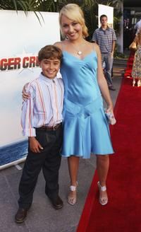 Jansen Panettiere and Hayden Panettiere at the premiere of