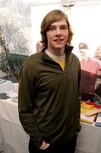 Hunter Parrish at the Showtime Style 2006, a pre-Golden Globe awards style retreat.