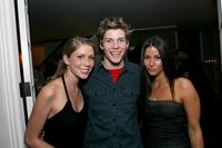 Allison Tyler, Hunter Parrish and Kari Feinstein at the RBK Style Lounge.