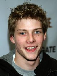 Hunter Parrish at the Showtime Pre-Golden Globes Celebration.