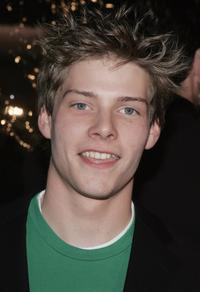 Hunter Parrish at the California premiere of