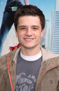 Josh Hutcherson at the premiere of