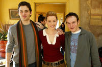 James Marsden, Elizabeth Banks and Chris Terrio at the press conference of
