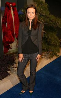 Olivia Wilde at the Alexander McQueen Store Opening.