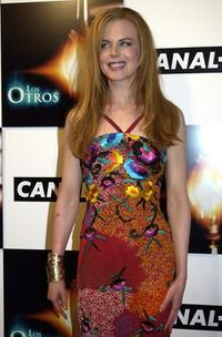 Nicole Kidman at the Madrid premiere of