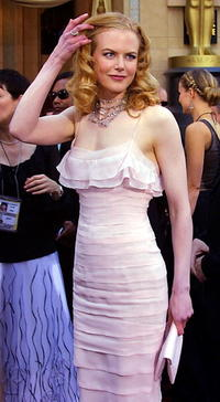 Nicole Kidman at the 74th Academy Awards.