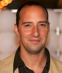 Tony Hale at the Fox All-Star Television Critics Association party.
