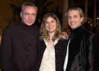 Udo Kier, Nadja and Director E. Elias Merhigeat at the premiere of
