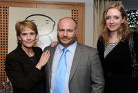 Gareth Unwin and Guests at the 2011 DPA Golden Globes Gift Suite.