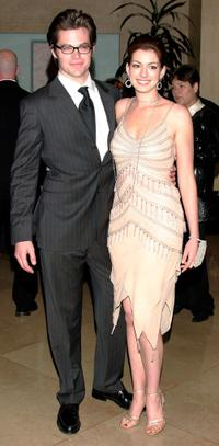 Chris Pine and Anne Hathaway at the 54th Annual ACE Eddie Awards.