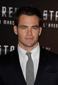 Chris Pine at the photocall of