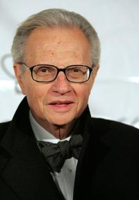 Larry King at the 2005 Princess Grace Foundation-USA Awards Gala.