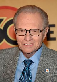 Larry King at the ABC's Good Morning America's 30th Anniversary Gala.
