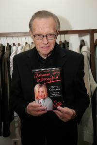 Larry King at the exclusive post SAG Awards.