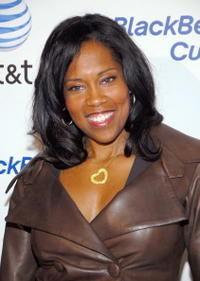 Regina King at the launch party for the new BlackBerry Curve in L.A.