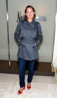 Zoe Bell at the Neiman Marcus Beverly Hills fashion show.