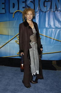 Alex Kingston at the Project Angel Foods Divine Design 2004 Gala at the Barker Hangar.