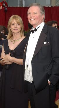 Nastassja Kinski and Jon Voight at the 74th Annual Academy Awards.