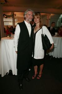 Hermann Buehlbecker and Nastassja Kinski at the CHIO Media Night.