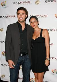 Jonathan Bennett and Aly Moses at the RockSugar Pan Asian Kitchen Launch party.