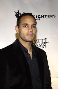 Daniel Sunjata at the 4th Annual Bash for New Yorks Bravest Charity Auction.