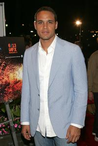 Daniel Sunjata at the after party of the premiere of