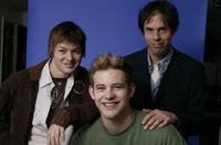 Cole Williams, Bryce Johnson and Christopher Munch at the 2004 Sundance Film Festival.