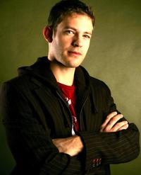 Bryce Johnson at the Getty Images Portrait Studio during the 2006 Sundance Film Festival.