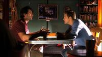 Bryce Johnson as David and Austin James Peck as Sam in