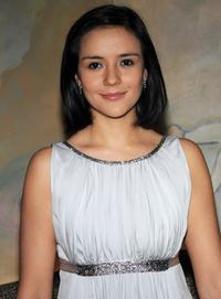 Catalina Sandino Moreno at the Academy of Motion Picture Arts and Sciences official Oscar Celebration.