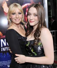 Ari Graynor and Kat Dennings at the premiere of