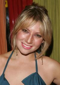 Ari Graynor at the after party of the New York opening night of