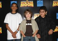 Phillip Daniel Bolden, Trevor Gagnon and David Gore at the Los Angeles premiere of